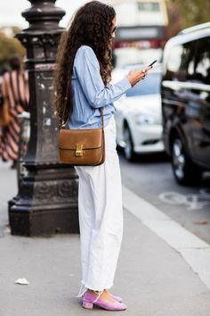 Street style à la Fashion Week printemps-été 2017 de Paris                                                                                                                                                                                 More