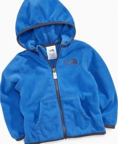 The North Face Baby Jacket, Baby Boys Glacier Hoodie - Kids Baby Boy (0-24 months) - Macy's