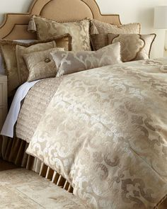Modern Baroque Bedding by Dian Austin Couture Home at Horchow.