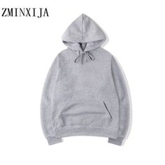 e3b00f31199 ZMINXIJA 2018 New brand Hoodie Streetwear Hip Hop red Black gray pink  Hooded Hoody Mens Hoodies and Sweatshirts Size M XXL-in Hoodies   Sweatshirts  from ...