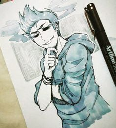 Eddsworld Tom~♡ This artist is good.