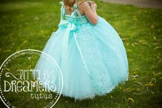 Hey, I found this really awesome Etsy listing at http://www.etsy.com/listing/118964207/aqua-flower-girl-tutu-dress-with-aqua