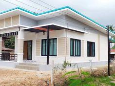 บ้านชั้นเดียว สไตล์โมเดิร์น ขนาด 3 ห้องนอน พื้นที่ 114 ตารางเมตร Minimal House Design, Simple House Design, Minimal Home, Dream Home Design, Modern House Philippines, Sims House Plans, 5 Bedroom House, Modern Farmhouse Plans, Minimalism