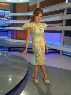 Modern Philippines Outfit, Philippines Fashion, Modern Filipiniana Gown, Short Dresses, Summer Dresses, Formal Dresses, Style And Grace, Sleeve Designs, Lovely Dresses