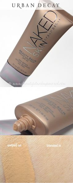 Flawless skin with Urban Decay NAKED Skin BeautyBalm.