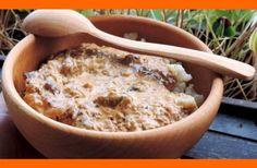 Bedle na smotane (bedľový perkelt) Goulash, Russian Recipes, Oatmeal, Stuffed Mushrooms, Cooking, Breakfast, Food, The Oatmeal, Stuff Mushrooms