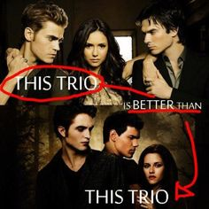 I would have said yes last year but, now that I am reading and watching Twilight I say they are the same,