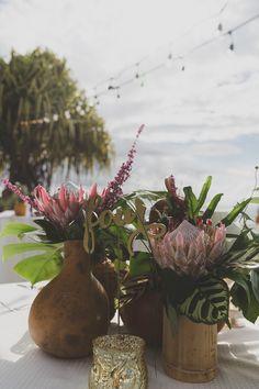 Westin Kaanapali Resort Wedding tropical wedding flowers, Dellables.com