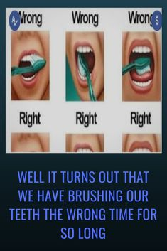 Well it turns out that we have brushing our teeth the wrong time for so long Health Tips For Women, Health And Fitness Tips, Nutrition Tips, Health And Nutrition, Health And Beauty, Teeth Health, Oral Health, Health Care, Essential Oils Near Me