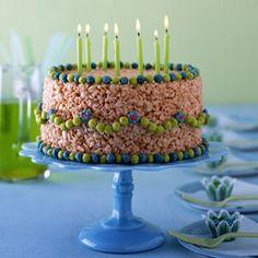 No-Bake Birthday Cake  #recipe #cake