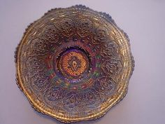 Persian Inspired Glass Bowl