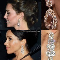 Which jewelry do you want to wear? Princess Diana Family, Princess Kate, Real Princess, Estilo Kate Middleton, Kate Middleton Style, Princesa Diana, Kate Middleton Earrings, Queen Kate, Kate And Meghan