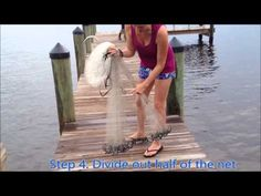 Guide to Throwing a Cast Net | Easy Enough For a Girl - YouTube