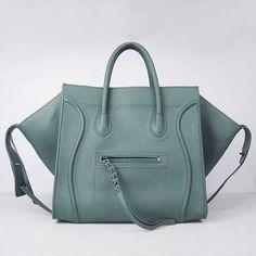 b9dd07d2dc11 Celine Bags Boston Square Calfskin Dark Green Special On Sale --  249.99  Celine Handbags