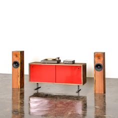 The Credenza audio cabinet / sideboard by Fern & Roby.