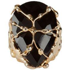 Rosantica Women's Baronessa Teardrop Cocktail Ring