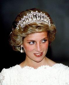 Princess Diana, November 1985.