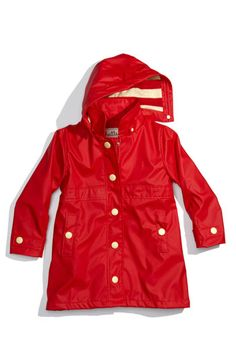 Hatley 'Splash' Raincoat (Toddler, Little Girls & Big Girls) available at #Nordstrom