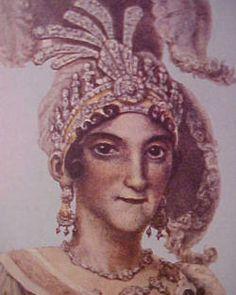 Carlota Joaquina, rainha: Carlota Joaquina Teresa Caetana de Bourbon e Bourbon (1775—1830) foi infanta de Espanha, princesa do Brasil e rainha de Portugal por seu casamento com D. João VI. Ficou conhecida como A Megera de Queluz, pela sua personalidade forte e porque escolheu viver no Palácio de Queluz, nos arredores de Lisboa.