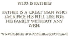fathers day sms in hindi 140 character