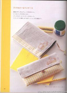 [转载]<刺绣书>懒懒熊主题编织+图案刺绣