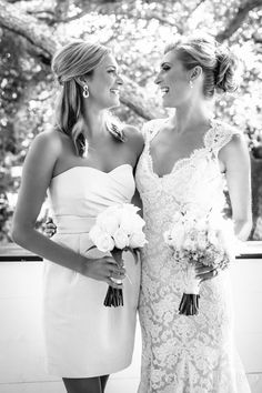Bride and her sister/Maid of Honor