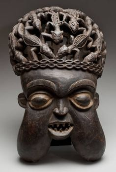 Unidentified Artist, African (Cameroon, Anyang or Bamum people) :: David Owsley Museum of Art Collection