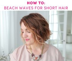 All you need is a clipless curling iron and 2 products to get this chic, tousled style.