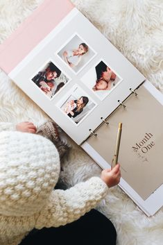 The Story of You –– a modern baby book from @artifactuprsng. Get started on yours today. Image by @haelienicole
