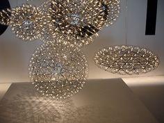 Luminárias Moooi por Raimond Puts