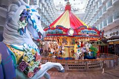 Carousel on the Oasis of the Seas