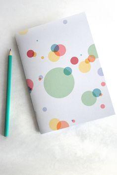 Bubbles - cahier A5 illustré fait-main