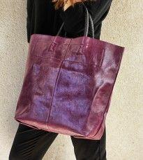 Bolsa primavera con asa trenzada color lila / http://onlyou.es/store/bolsos