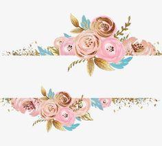 Free Printable Flower Borders and Frames   Floral Border ...