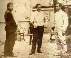 dr.jose p.rizal,Juan luna@valentin Ventura