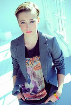 soft butch more androgynous style butch lesbians butch girl hairstyle ...