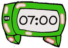 new year s eve party clipart 2017 2018 digital clocks and teacher rh pinterest com Cute Clock Clip Art Cartoon Clock Clip Art