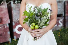 joeyarmstrong-seaciderwedding-Herb Wedding Herb Wedding, Dream Wedding, 30th Anniversary, Herbs, Wedding Dresses, Bride Gowns, Wedding Gowns, Weding Dresses, 30 Year Anniversary