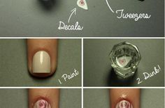 FL   Rose Nail Design