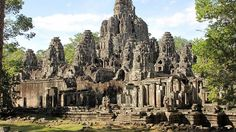 Bayon Temple http://cambodiahotels.info/featured/angkor-elephant-riding.html