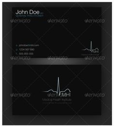 Medical doctor physician with appointment business card its two 25 designs of medical business cards for doctors reheart Gallery