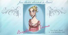 """A Jane Austen Sociedade do Brasil irá celebrar o Bicentenário de publicação de Emma! Com o tema: """"É uma felicidade quando boas pessoas se reúnem!""""(Emma) """"It's such a happiness whe…"""