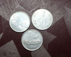 #50#paise#coin#india