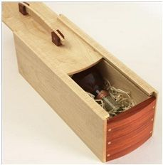 Wine Gift Box - Woodworking Talk - Woodworkers Forum