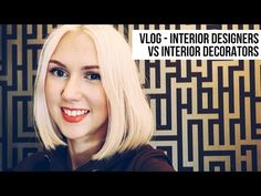 In this vlog Im sharing my thoughts about interior designers vs interior decorators, what the differences are and why we all need a better understan. Interior Design Classes, Interior Design Business, Commercial Interior Design, Home Interior Design, Interior And Exterior, Interior Decorating, Lilac Living Rooms, Homemade Xmas Decorations, Waterfall House