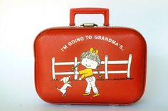 I'm going to Grandmas Suitcase! I so had one of these and it had my name on it!!