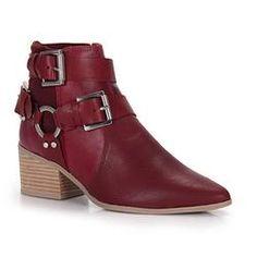 Ankle Boots Feminina Tanara