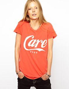 Zoe Karssen Care Free T-Shirt on shopstyle.com