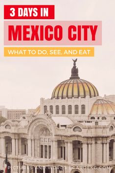 Planning a Mexico City trip? Be sure to read this Mexico City travel guide, packed full of the best things to do in Mexico City. You will also discover where to stay in Mexico City, as well as the best Mexico City food to help you plan the best trip to CDMX ever! #mexicocity #mexico #cdmx #mexicocitytravel #mexicocitygyide #df