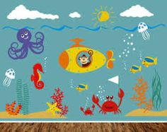 fish wall stickers - Google Search